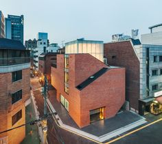 nonhyun limelight music consulting in seoul by dia architecture - designboom | architecture