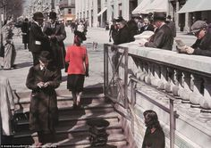 France During the German Occupation: 54 Amazing Color Photographs That Show Paris as Sunny, Airy, Bursting in the Early ~ vintage everyday Old Paris, Vintage Paris, Metro Paris, Occupation, Nazi Propaganda, Best Vacation Destinations, War Photography, Paris Ville, Life Goes On