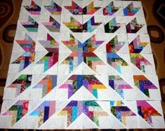 Stratosphere Tiles Quilt Kit 57 x 76