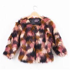 Warm Women's Fur Jacket