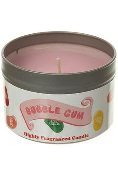 JELLY BELLY BUBBLE GUM CANDLE Jelly Belly, Smell Good, Bubble Gum, Incense, Bubbles, Fragrance, Candles, Random, How To Make
