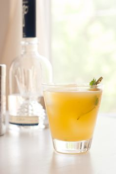 pineapple cocktail infused with cilantro and serrano~T~ add a little spice to your life