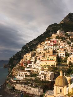 Positano on the Amalfi Coast of Italy