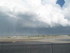 Rain over the ocean, Wildwood