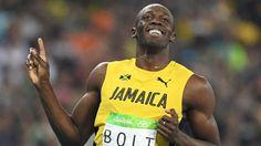 Rio Olympics 2016: Usain Bolt reaches men's 200m final but Justin Gatlin out - BBC Sport