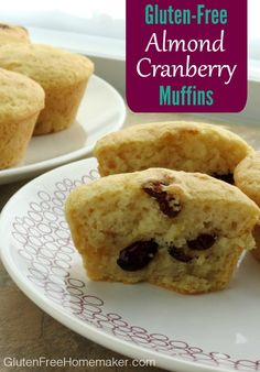 """Almond Cranberry Muffins 