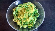 Risotto aux légumes verts et à l'amande