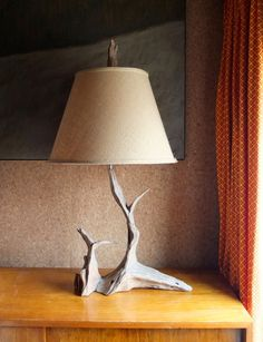 Large Driftwood lamp - Montauk beach house chic in Williamsburg, Brooklyn ~ Krrb Classifieds