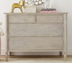 Like this dresser for Layla's Room.   Georgia Caned Dresser | Pottery Barn Kids