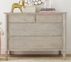 Like this dresser for Layla's Room.   Georgia Caned Dresser   Pottery Barn Kids