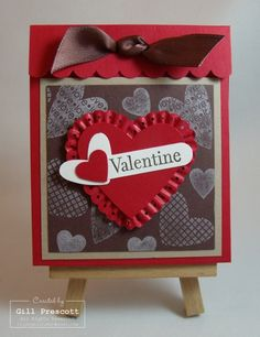 Stampin Up - Valentine sweet treat