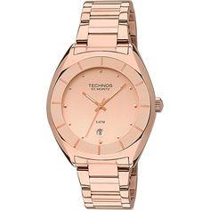 7ae71bc50fa  Americanas  Relógio Feminino Technos Analógico Casual GM10XZ 4T - R 143