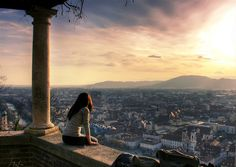City of Graz, Austria Fivehundredpx by Alexander Böhm Trance, Graz Austria, Austria Travel, Lessons Learned In Life, Sight & Sound, Concrete Jungle, Top Of The World, Airplane View, Serenity