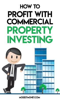 How to profit with commercial property investing Income Property, Property Prices, Investment Property, Rental Property, Commercial Real Estate Investing, Getting Into Real Estate, Risky Business, Money Saving Tips, Money Tips