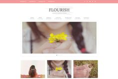 We want your new website to not only look gorgeous, but we want it to flourish!  With the new Flourish theme, it will help you do just that!  This theme is gorgeous and will surely take your busine…