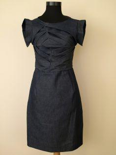 Farmerruha, nonolepke, meska.hu #denim #dress #jeans Paros, Farmer, Dresses For Work, Women's Fashion, Denim, Jeans, Black, Fashion Women