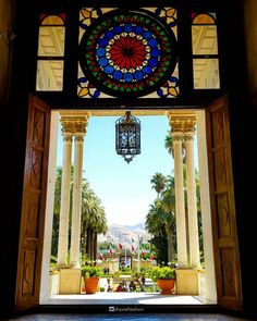 Afifabad Garden and Museum, Shiraz, Iran (Persian: باغ و موزه عفیف آباد در شیراز ) Photo by: Ehsan Ehtesham