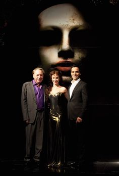 Love Never Dies Premiere UK ~ Andrew Lloyd Webber, Sierra Boggess, and Ramin Karimloo <3