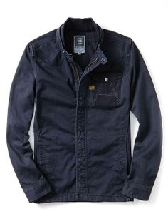"""G-Star RAW """"A"""" Compact Duty Twill Overshirt 