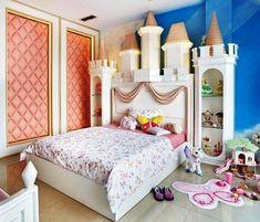 Desain R Tidur Anak Perempuan Mewah