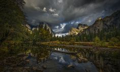 Autumn Storm At The Gates Of The Valley