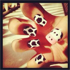 Cow nails :)