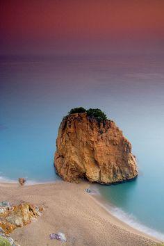 Illa Roja - Begur (Costa Brava). Catalonia