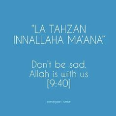 Allah is with us always
