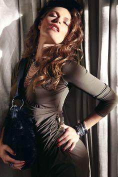 Jennifer Lopez (Kohls) - this dress is incredibly flattering on...love it!!