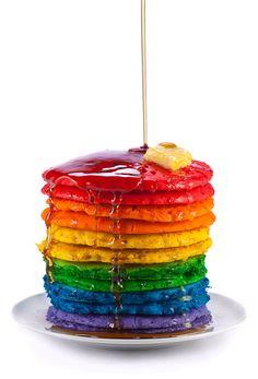 Colors pancake fantasy