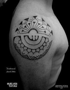 Tatuaje maori Madrid polinesio #maori #Madrid #polinesio