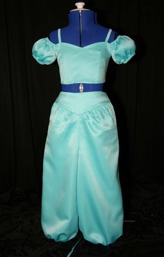Satin Jasmine Costume Custom Size. $189.99, via Etsy. So pretty <3