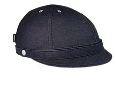 Bike helmet - Milano Dark Blue Denim - YAKKAY. Size Medium (trur den eg såg i butikken var svart?).