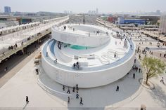 Pavilhão dinamarquês na Expo Xangai 2010 (Foto: Iwan Baan)