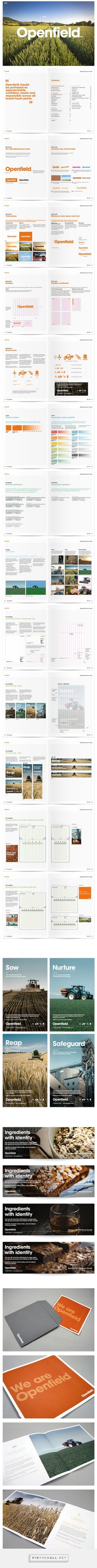 Openfield - Brand development and guidelines