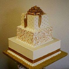 pastel dorado - Buscar con Google