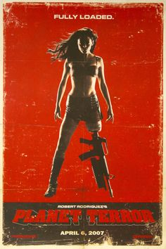 Death Proof / Planet Terror Movie Poster