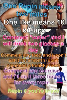 Please comment and repin!!!! Please!!!!!! Oh, for each repin I will run up and down stairs for 3 minutes