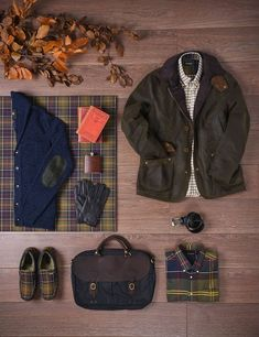 Men's Classic Tartan | Autumn Winter 2015 #barbour #tartan #winterwarmers #jumpers #jackets