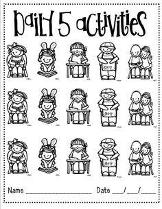 Teaching, Learning, & Loving: Kindergarten Daily 5- Ch. 2