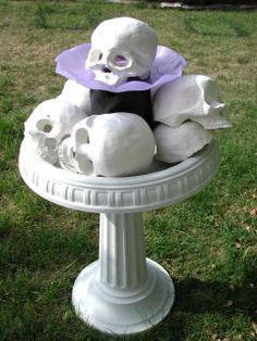 Skull Fountain  Wolfstone