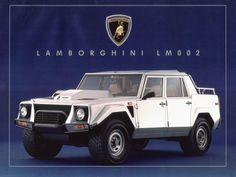 Lamborghini LM 002 Put that in your pipe and smoke it, you ugly ...