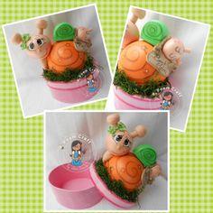 snail jewelry box by julissagarcia2 on Etsy, $10.00