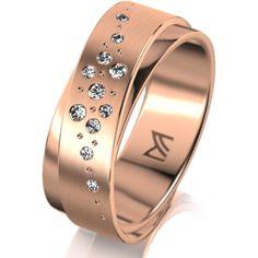 MEISTER Wedding-Ring PHANTASTICS Twinset 69 - wedding-rings redgold | MEISTER