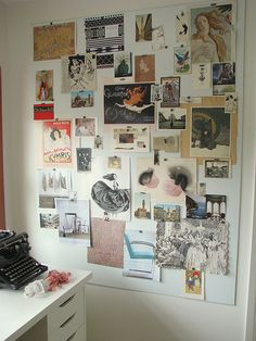 Every home or office needs an inspiration board.