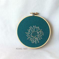 Hand Embroidered Art Part Two @Alyssa Pittman