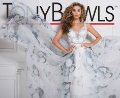 Tony Bowls Style TB11775 - View the Tony Bowls Collection now and contact a retailer near you to order the perfect designer dress for your social occasion!