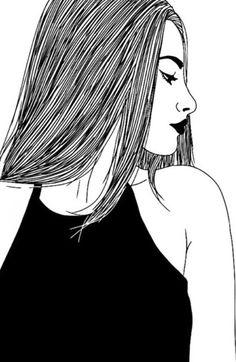 Imagem de outline, drawing, and black