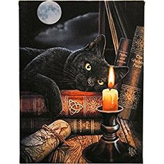 The Witching Hour Greetings Card (Blank) by Lisa Parker