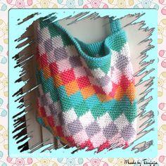 "Tapestry tas ""Harlekijn tas"""